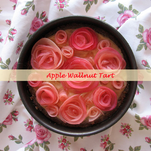 Apple wallnut tart 1