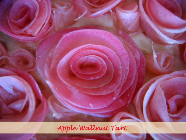 Apple wallnut tart 2
