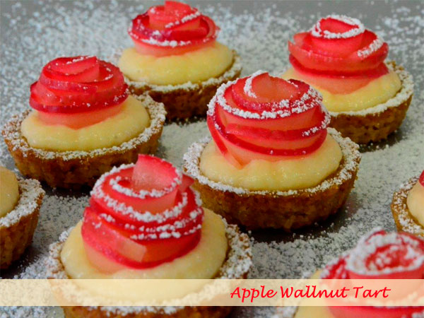 Apple wallnut tart 4