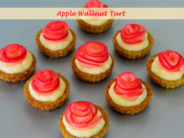 Apple wallnut tart 5