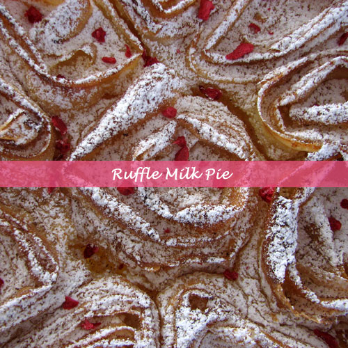 Ruffle Milk Pie 1
