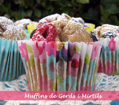 muffins gerds mirtils