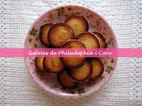 Galletas de Philadelphia y Coco