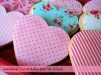 Galletas decoradas con papel comestible