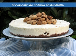 Cheesecake de Cookies de Chocolate